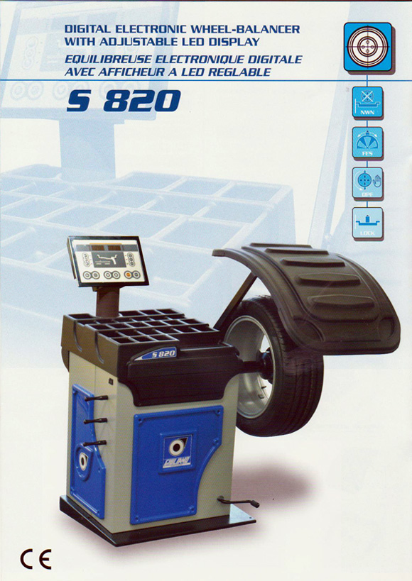 giuliano 820 wheel balancer