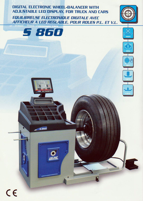 giuliano 860 wheel balancer