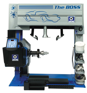the boss tyre changer